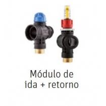 MODULO IDA + RETORNO COLECTOR PLÁSTICO SUELO RADIANTE Y REFRESCANTE ROTH