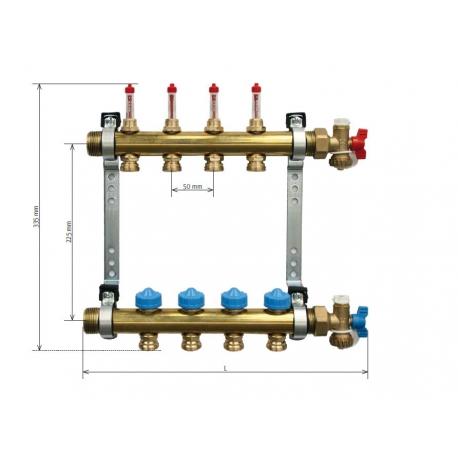 COLECTOR COMPACTO HKV-CL 9 SALIDAS