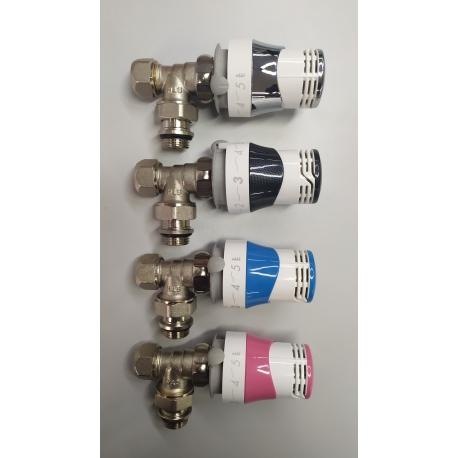 Válvula termostática Comap Senso personalizable a color