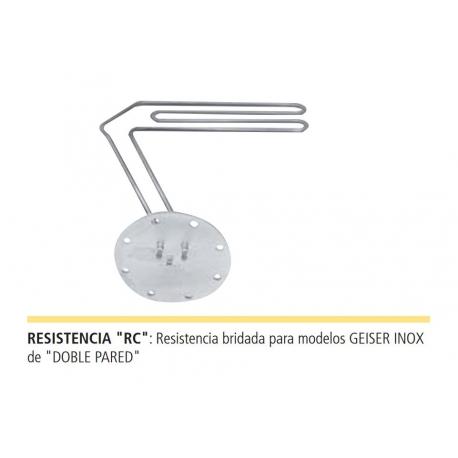 RESISTENCIA ELÉCTRICA BRIDADA RC ACUMULADOR LAPESA