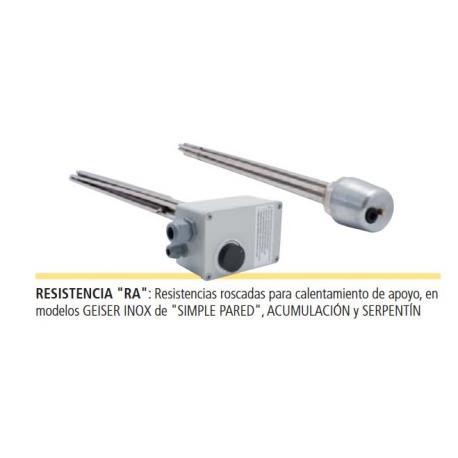 RESISTENCIA ELÉCTRICA ROSCADA RA ACUMULADOR LAPESA