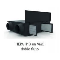 RECAMBIO FILTRO HEPA H13 - CAJA POR CONDUCTOS VCM