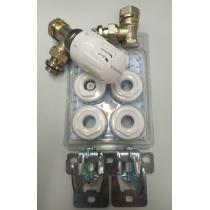 Kit Reducciones Termostático Completo por radiador Klimatech de Standard Hidráulica