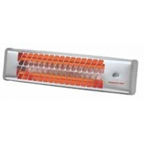 CALEFACTOR INFRARROJO PARA INTERIOR IC1200 600-1200W GRIS METALIZADO 54,5X13,5X11 CM