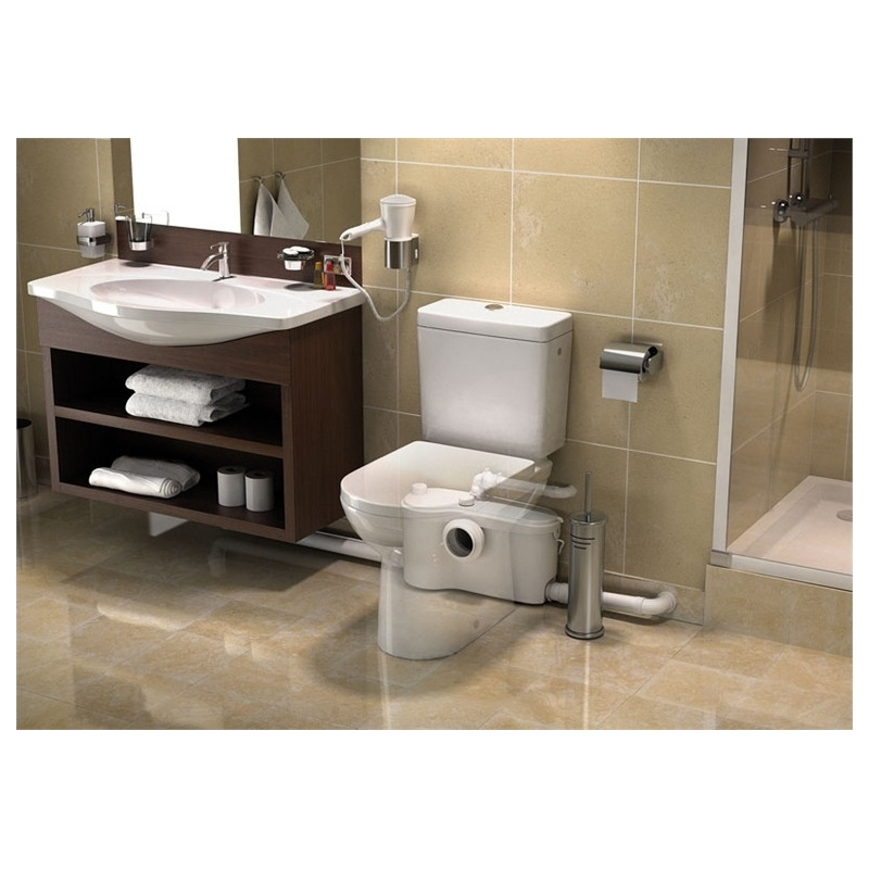 triturador sanibest pro para wc lavabo ducha y bide materiales calefacci n. Black Bedroom Furniture Sets. Home Design Ideas