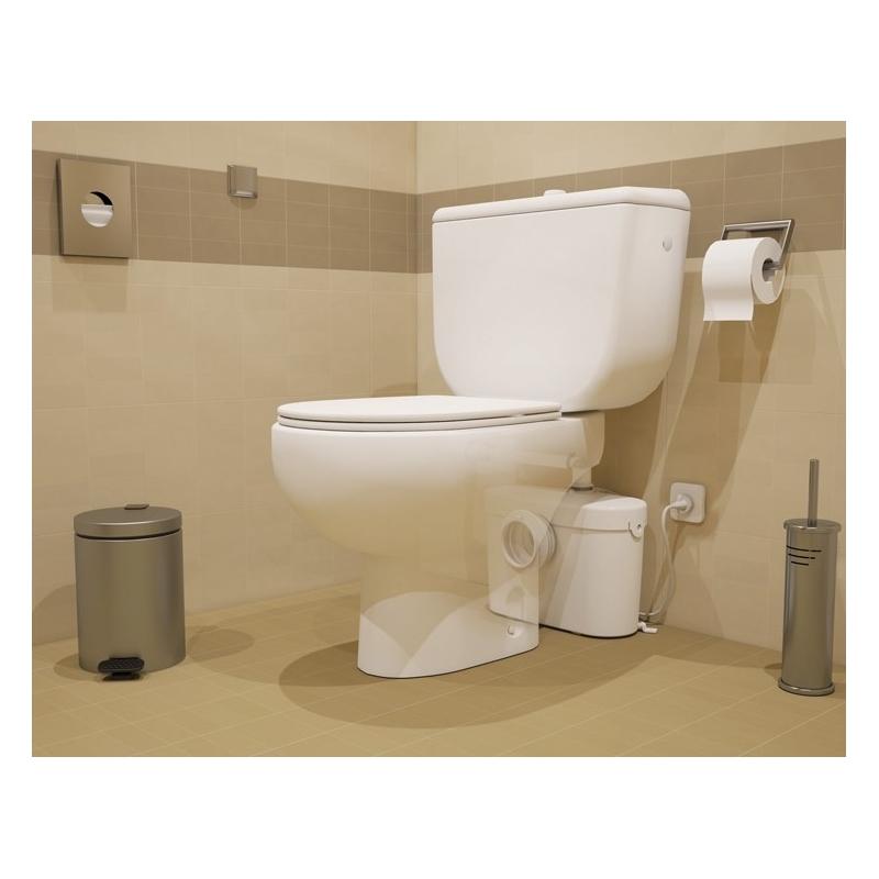 Triturador saniaccess 1 para wc con acceso rapido - Inodoro con triturador ...