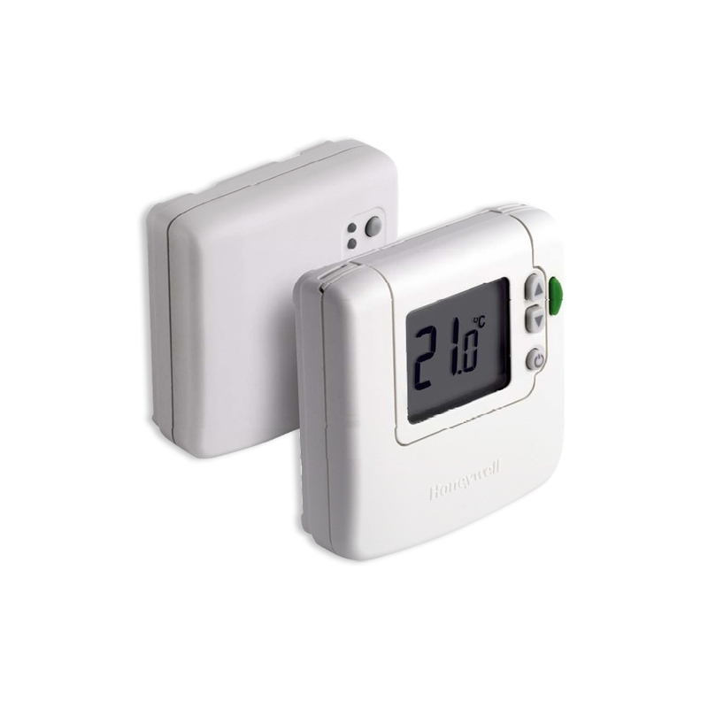 Termostato inal mbrico digital honeywell dt92e1000 f eco for Termostato digital calefaccion programable