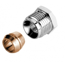 "RACOR PARA VENUS HONEYWELL 3/8""12 MM COBRE"