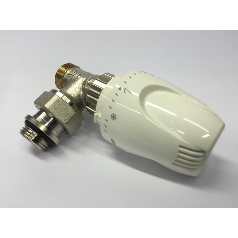 Valvula termostatica klimatech cobre 1 2 x15mm - Valvula termostatica radiador ...