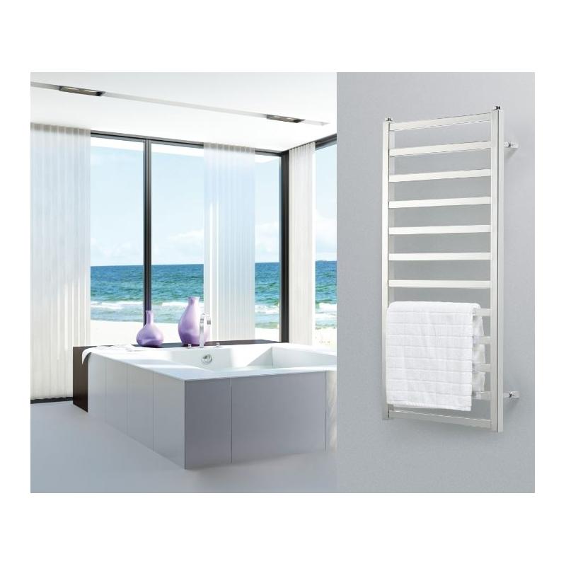 Radiador toallero karnak de cicsa materiales calefacci n - Toallero de pared ...