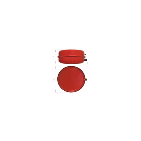 "Circular 8PCS 8ltrs. 1/2"" 387x85mm."