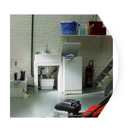 triturador sfa sanivite cocina
