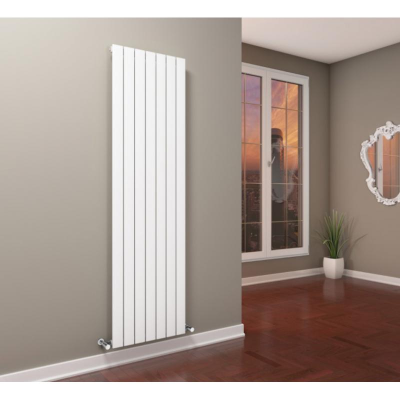 Radiador plain vertical de cicsa materiales calefacci n - Radiadores electricos decorativos ...