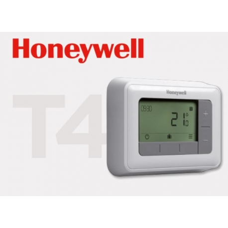 CRONOTERMOSTATO T4 DE PARED HONEYWELL
