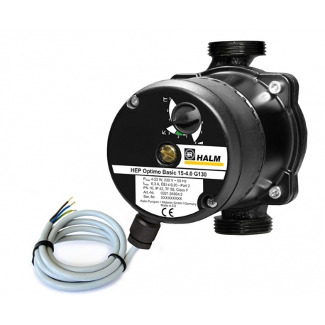 Bomba circuladora calefacci n halm hep optimo basic 25 6 0 for Bomba calefaccion gasoil