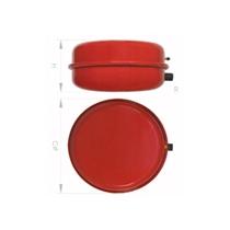 "vaso expansión Circular 10 PCA 10ltrs. 3/4"" 325x160 mm."