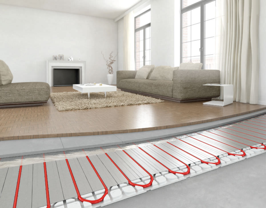 Suelo radiante una opci n eficiente para tu calefacci n materiales de calefacci n - Pavimento para suelo radiante ...